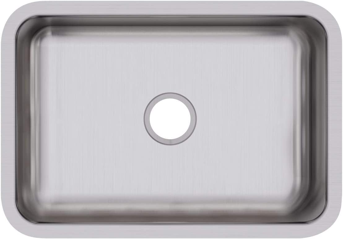 Elkay DXUH2416 Dayton Single Bowl Undermount Stainless Steel Sink