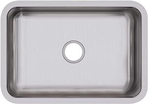 Elkay DXUH2416 Dayton Single Bowl Undermount Stainless Steel Sink
