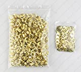 LIPOVOLT 400 PCS Plating Eyelets with Washers