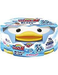 日亚: 日本原装!GOON 大王清爽企鹅湿纸巾 70枚 (JP¥296.00)