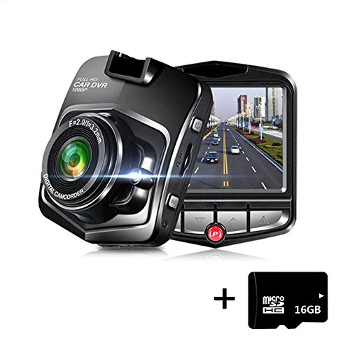 Full HD 1080P Mini Dash Cam Car Blackbox Car DVR 140 Wide Angle Dashboard Camera Vehicle Camera Front G-Sensor Motion Detection Loop Video Recorder Night Vision with 16GB Micro SD Card Parking Monitor For Sale