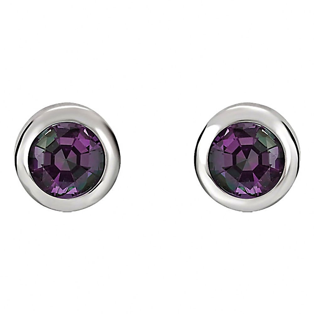sapphire stud alexandrite brand item woman silver jewelrypalace in natural created earrings fashion jewelry sterling from