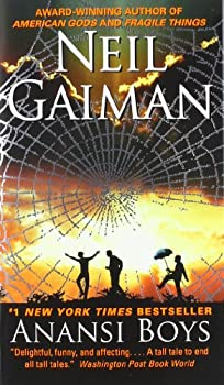 Anansi Boys 0060515198 Book Cover