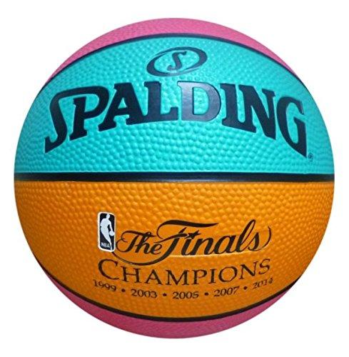 NBA San Antonio Spurs Mini Team Basketball, Retro Design - San Antonio Spurs Rubber