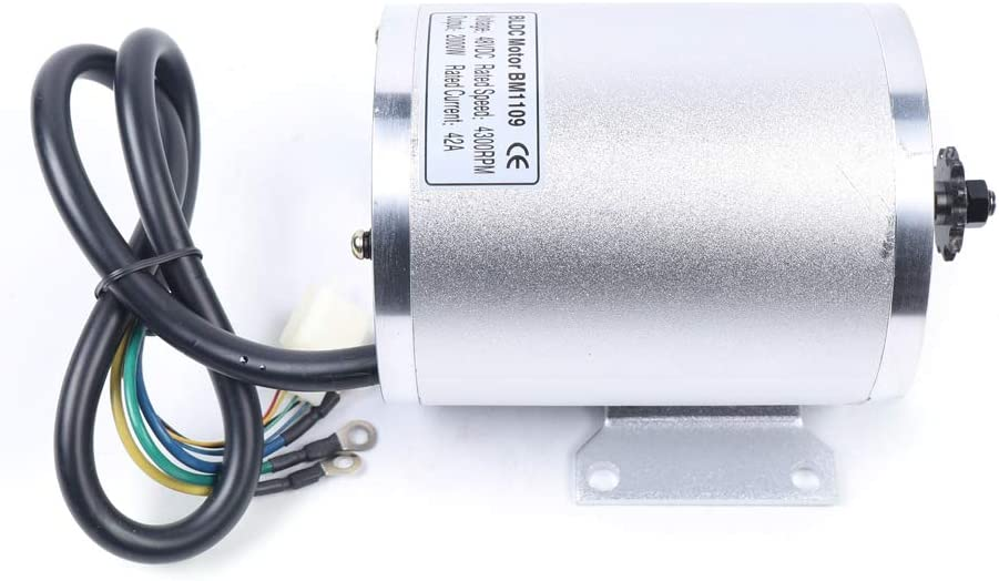 N //A 48V 2000W DC Brushless Electric Motor High Speed Electric Motor with Controller /& LCD Throttle for Electric Scooter E Bike Engine Motorcycle DIY Engine Go Kart