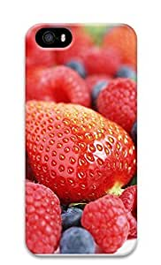 iPhone 5 5S Case Fresh Strawberries 3D Custom iPhone 5 5S Case Cover