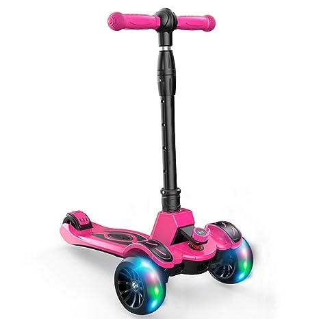 LJXin-Kick Scooters Patinete para niños de 1 a 12 años de ...