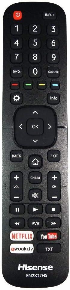 Mando Original de TV Recambio para Hisense H43N5300: Amazon.es: Electrónica