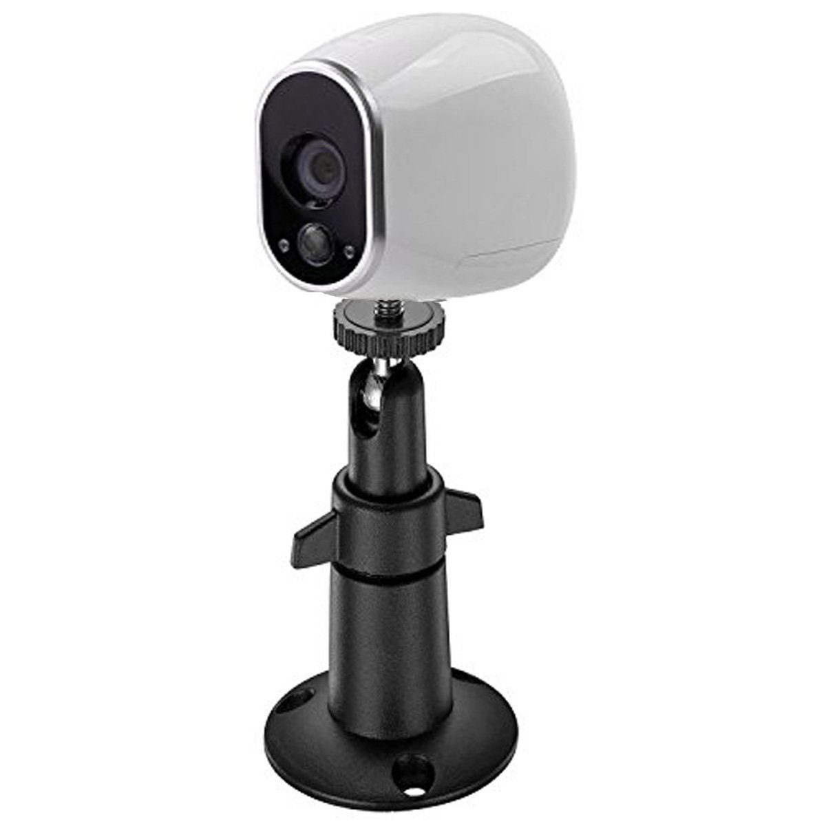 BFYTN Security Camera Metal Wall//Ceiling Mount Arlo Mount//Arlo Pro Mount White 2 Pack, Metal Arlo Pro Adjustable Indoor//Outdoor Mount for Arlo CCTV Camera and Other Compatible Models