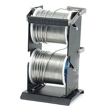 Soporte para latas de soldar, estaño de alta resistencia, soporte para latas de metal