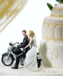 Willow Tree Promise Wedding Cake Topper Romantic Motorcycle Posture Bride And Groom