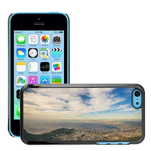 Stampato Modelli Hard plastica Custodie indietro Case Cover pelle protettiva Per // M00421739 Voir Bay Lagoon Paysage eau de mer // Apple iPhone 5C
