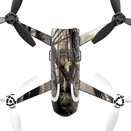 MightySkins Skin for Parrot Bebop 2 - Tree Camo | Protective, Durable, and Unique Vinyl Decal wrap Cover | Easy to Apply, Remove, and Change Styles | Made in The USA