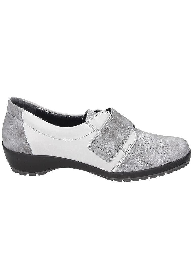 Comfortabel Comfortabel Damen Slipper - Mocasines de Piel para para para Mujer Gris Gris 6fc3be