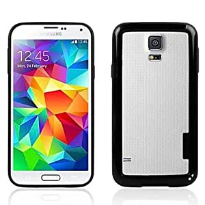 PEACH Border TPU Full Body Case for Samsung Galaxy S5 I9600 (Assorted Colors) , Black