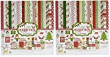 Echo Park Paper Company ILC114016 I Love Christmas Collection Kit (2-Pack)
