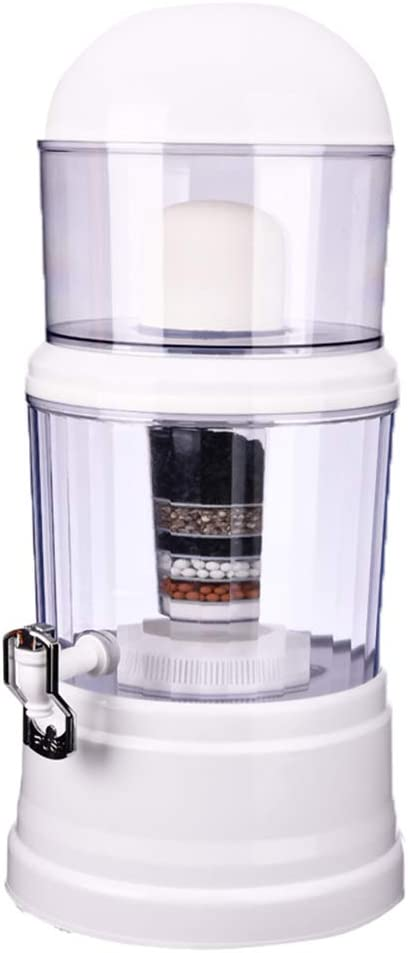 14L Filtro de Agua Hogar purificador de Agua alcalino dispensador de Agua Potable Tratamiento de Agua Bebida Recta