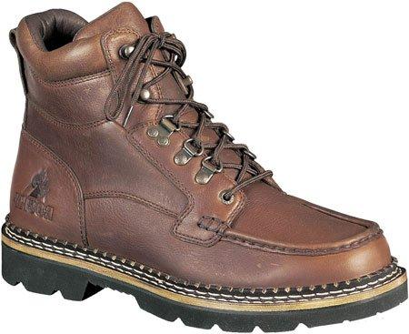Rocky 2984 Men's Western Cruiser Chukka Boot Auburn Soggy 10