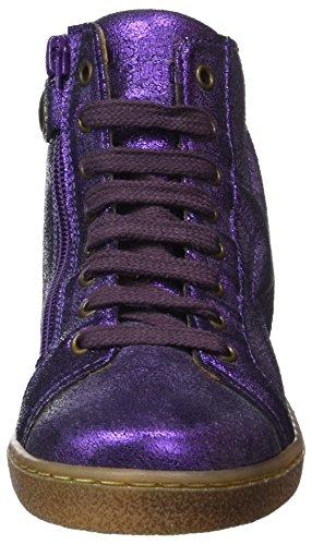 Bisgaard Schnürschuhe, Zapatillas Altas Unisex Niños Violet (Purple)