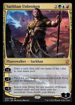 Magic: The Gathering - Sarkhan Unbroken (230/264) - Dragons of Tarkir from Magic: The Gathering