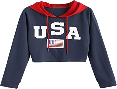 sweat shirt femme americain