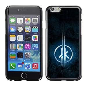 Paccase / SLIM PC / Aliminium Casa Carcasa Funda Case Cover para - JK - Apple Iphone 6