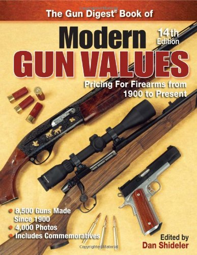 The Gun Digest Book of Modern Gun Values: Pricing for Firearms from 1900 to Present