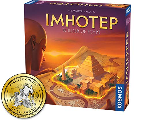 Imhotep Builder of Egypt Board Game