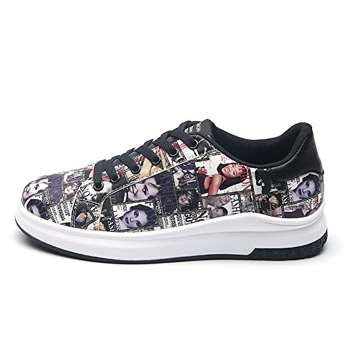 Dimensione moda Color moda EU Purple Sneakers And 42 Black amp;Baby Black traspirante da leggera Sunny da alla uomo Resistente and e skateboard all'abrasione purple C4qfxnwU6