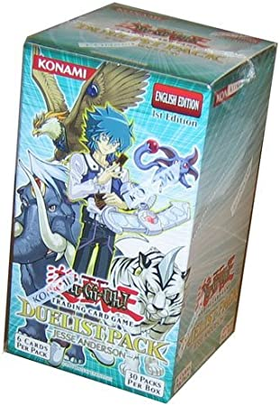 YuGiOh GX Juego de cartas Duelist Pack Booster Box Jesse Anderson (30 paquetes) [juguete]: Amazon.es: Juguetes y juegos