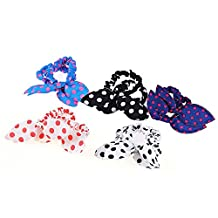 Baby Girls Hair Band Headband Colorful Knotted Knot Bow Bunny Ear Style Han Edition Headwear Accessories 10pcs