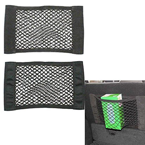 Multi Auto-Rücksitztasche mit 2 Magie Sticker/ Aufkleber, Organiser, Utensilien-Tasche - Halter für DVD Players,Tablets,Multimedia,Reise- oder Travel Kinderwagen-Organiser
