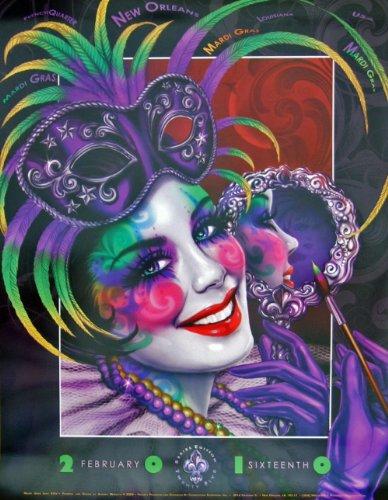 Andrea Mistretta Famous Mardi Gras Art P - Mardi Gras Art Shopping Results