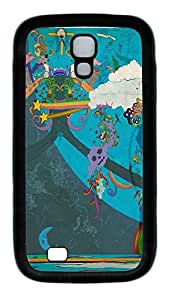 Samsung Galaxy S4 Case,Customize Ultra Slim Anime Picture Soft Rubber TPU Black Case Bumper Cover for S4