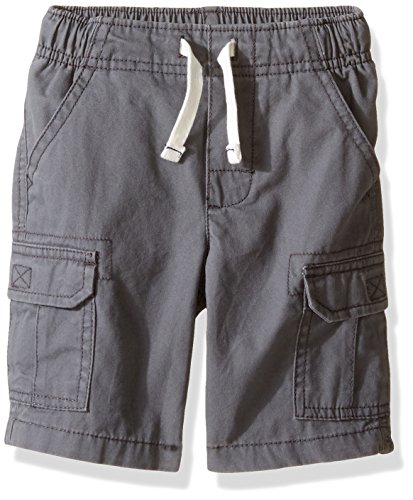 Carter's Boys Woven Short 248g372, Gray, 3T Toddler
