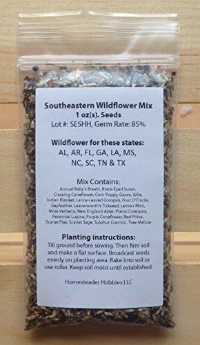 Tennessee Wildflower (Tennessee Wildflower Seed Mix, 1 Ounce)