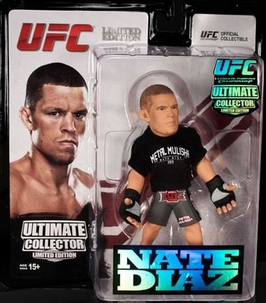 Round 5 UFC Ultimate Collector Series 12 Limited Edition Action Figure-Nate Diaz by Round 5 MMA
