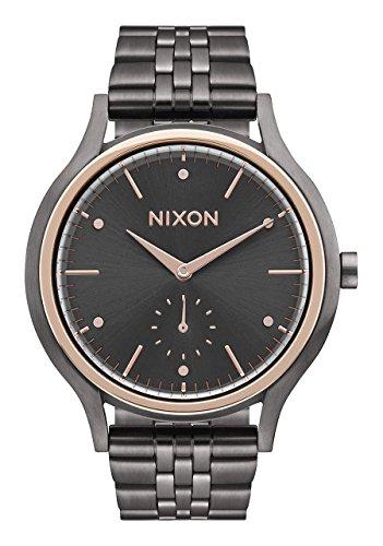 Nixon Sala Women's Watch Gunmetal/ Rose Gold