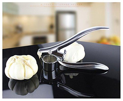(Ecentaur Garlic Presses Stainless Steel Kitchen Ginger Press Tool)
