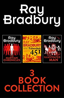 Amazon Com Ray Bradbury 3 Book Collection Fahrenheit 451
