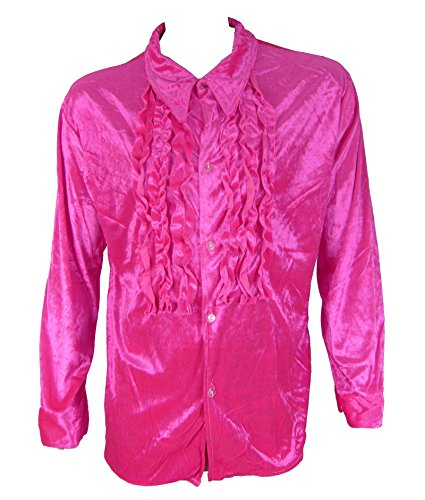 70s Tuxedo Shirt - 4