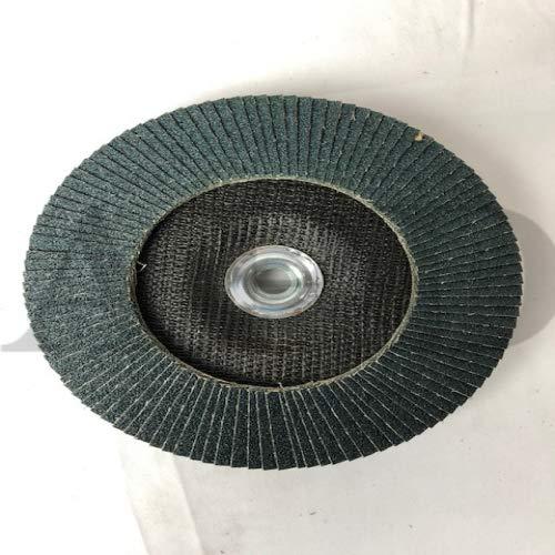 15-Pk Pearl Silver Line Zirc Flap Disc 7 Inch X 5/8-11 60 Type 27