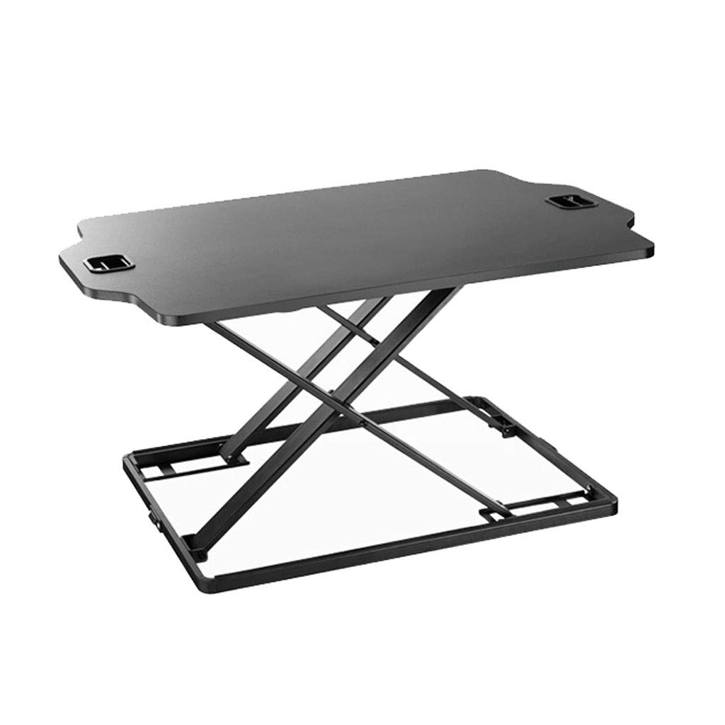 XJY Stand-up Laptop Desk for Bed Easy to Fold, Liftable and Standable Mobile Display Stand