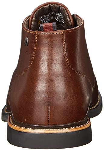 Timberland Brook Park_Brook Park Chukka, Men's Cold Lined Chukka Boots Short Length Red/Brown Smooth