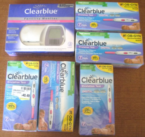 Clearblue Easy Fertility Monitor PLUS Clearblue Easy Fertility Test Strips - 1 Each