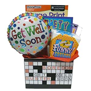 Boredom Buster Get Well Gift