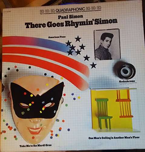 Used, Paul Simon - There Goes Rhymin Simon Quadraphonic vinyl for sale  Delivered anywhere in USA
