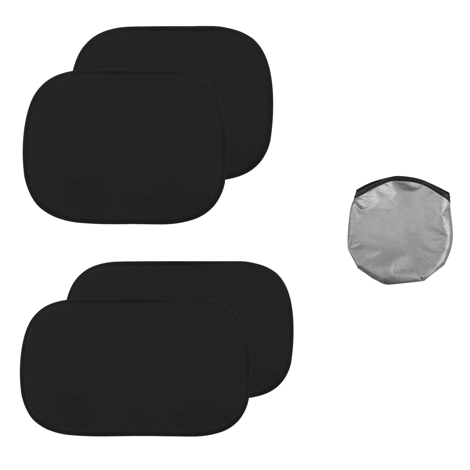 Car Side Window Sun Shade for Baby,Side Window Sunshades Protect for Kids Pets,Baby Sunshade for Car,80 GSM with 15s Film,Auto Sun Shades Blocking Sun Car Sun Shade 17x15,Car Window Shades 2Pack