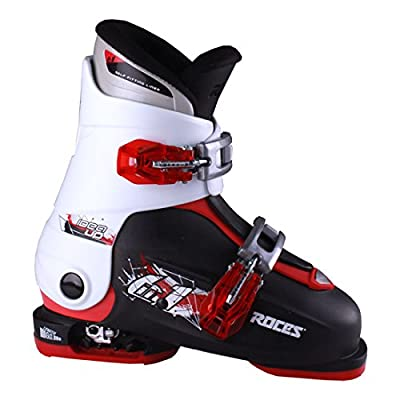 Roces 2016 Idea Adjustable Black/White/Red Kids Ski Boots 19.0-22.0