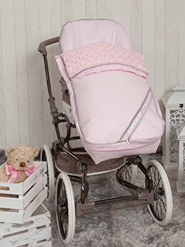 Babyline Bombon - Saco para silla de paseo, color rosa